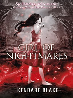 Girl of nightmares book cover